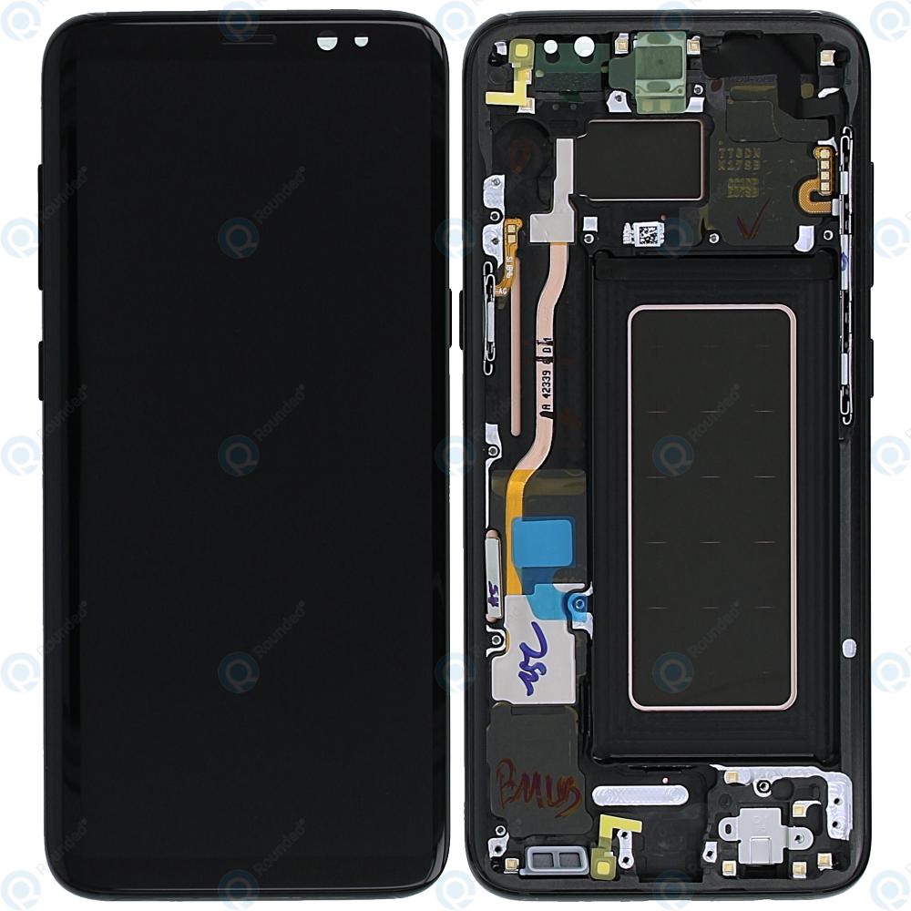 ab0314539ce Samsung Galaxy S8 (SM-G950F) Display unit complete black GH97-20457A