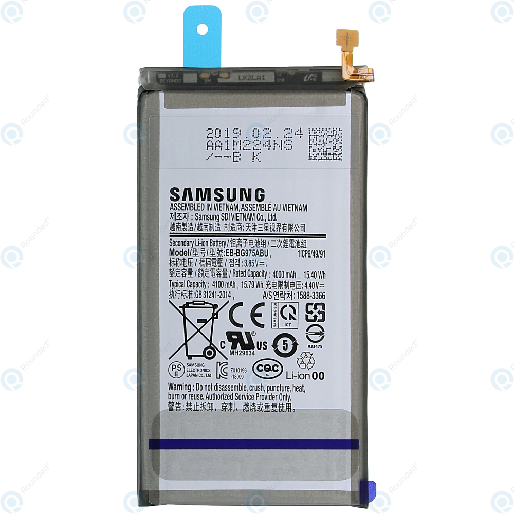 Image result for S10 Plus' 4,100 mAh battery