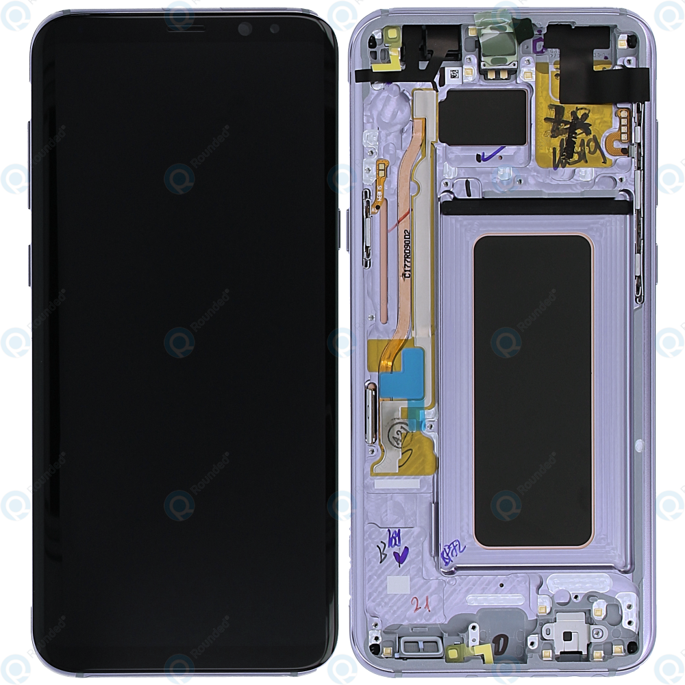 Samsung Galaxy S8 Plus (SM-G955F) Display unit complete violet GH97-20564C  GH97-20470C