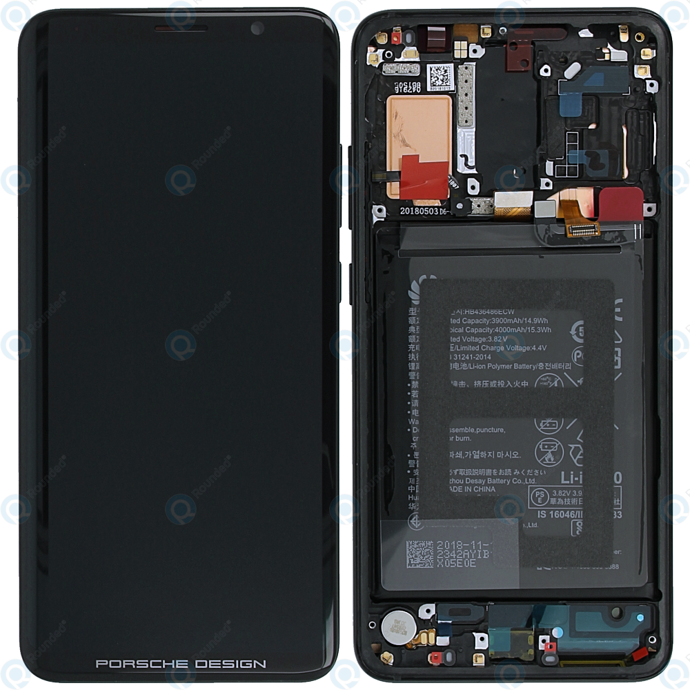Huawei Mate Rs Porsche Design Display Module Front Cover Lcd Digitizer Battery 02351xww,How To Design For 3d Printing