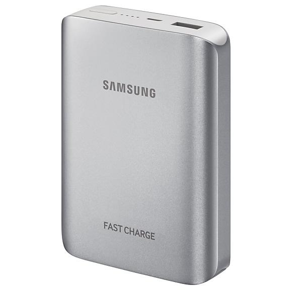 Samsung Fast charge power bank 10200mAh silver (EU Blister) EB PG935BSEGWW