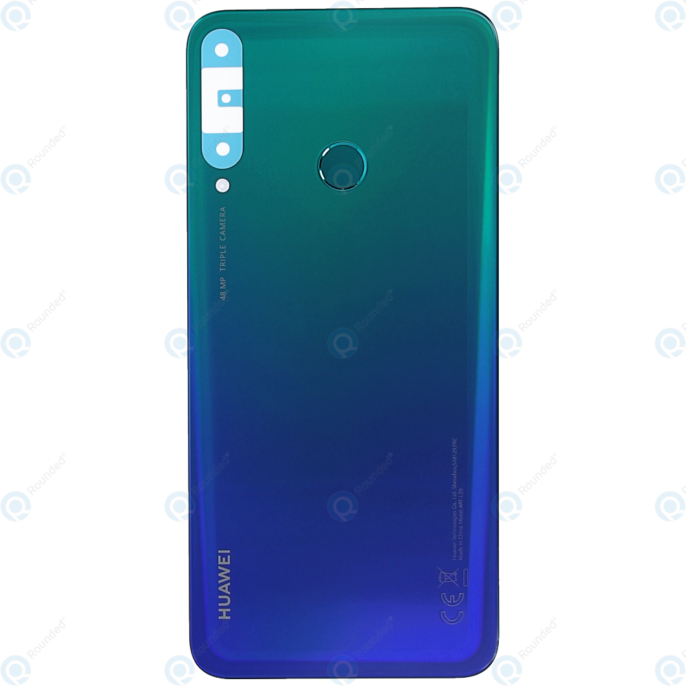 Huawei P40 Lite E (ART-L28 ART-L29) Battery cover aurora blue 02353LJF