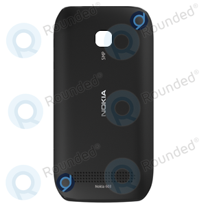 Nokia 603 Battery Cover Black