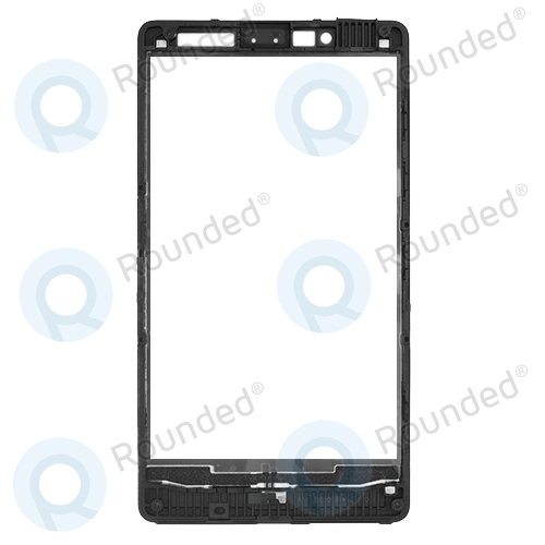nokia lumia 820 cover front front frame black