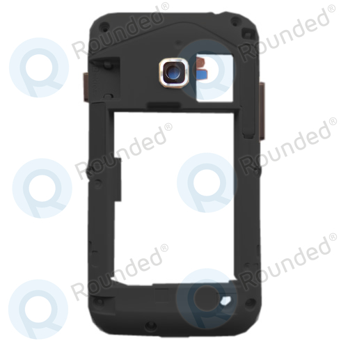 Samsung S6802 Ace Duos cover back, rear middle black
