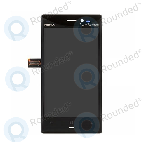 Nokia Lumia 928 display module complete black