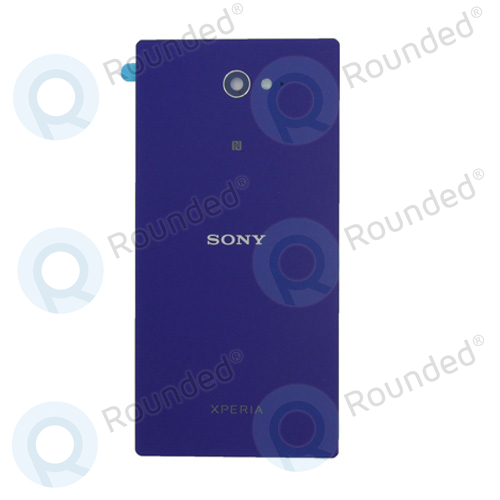 sports shoes 74409 a67c5 Sony Xperia M2, M2 Dual Back cover purple