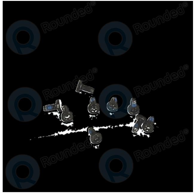 huawei ascend g510 screwset  9