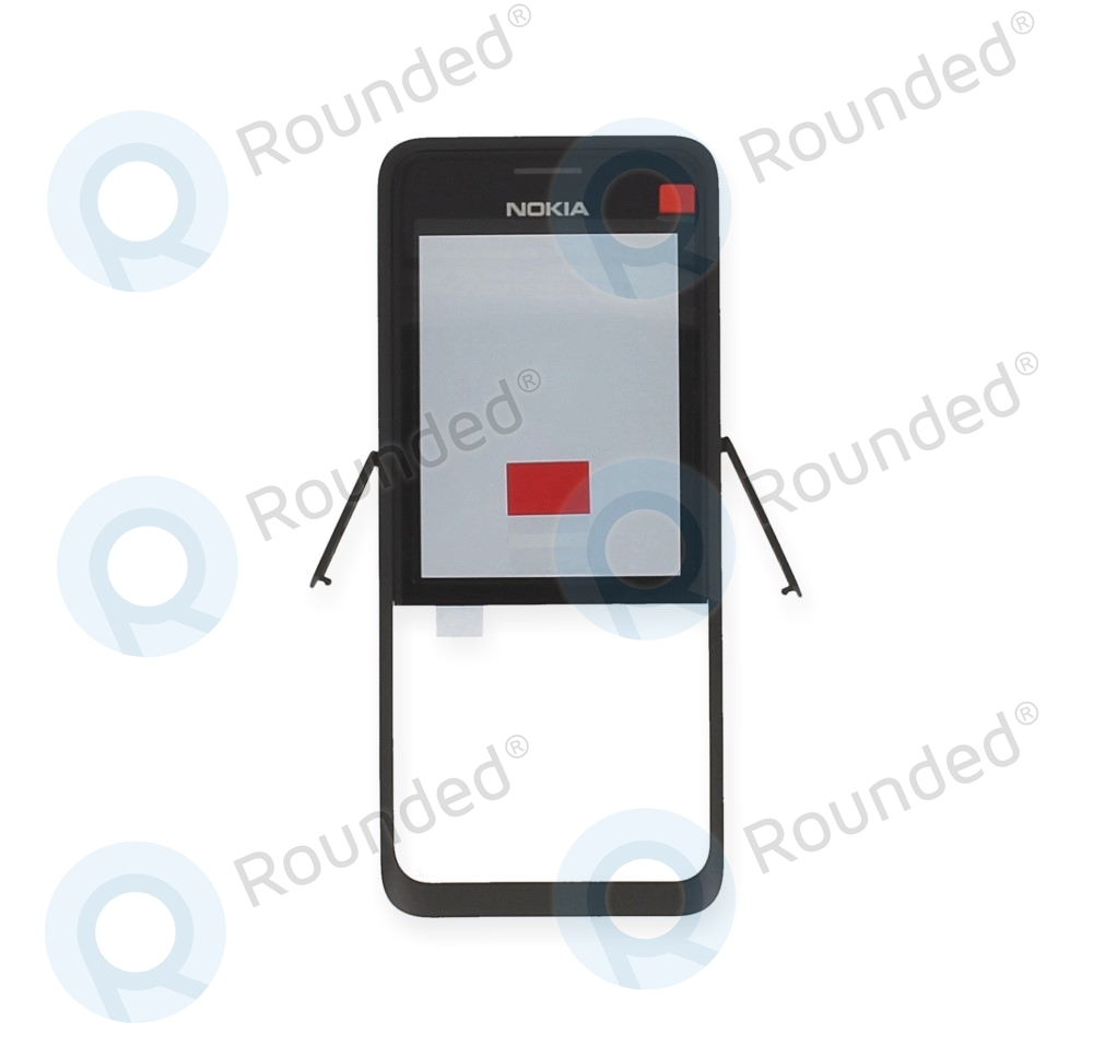 hot sales c836a e142f Nokia 301 Dual Sim Front Cover black