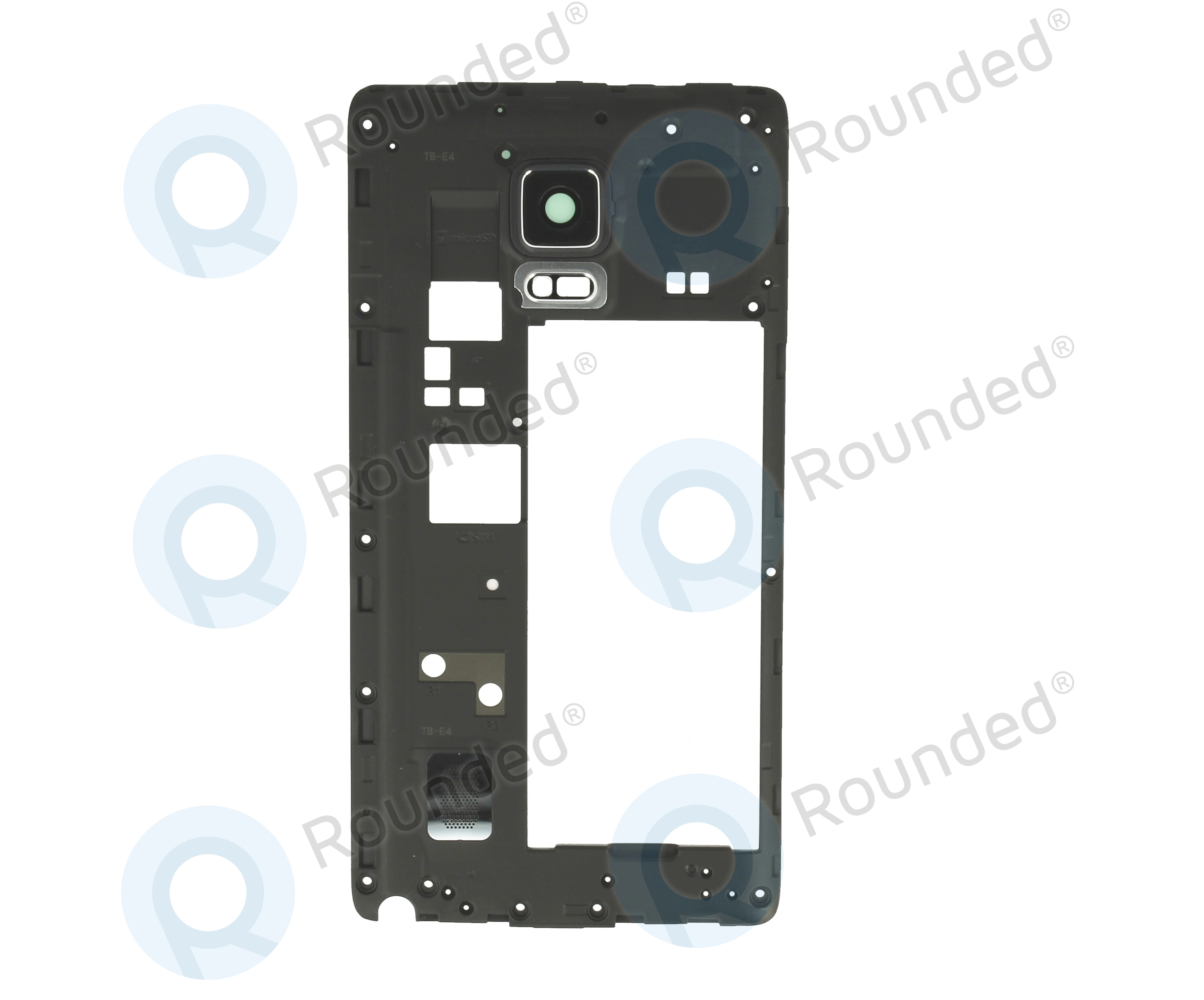 Samsung Galaxy Note Edge N915fy Middle Cover Black Samsunggalaxy