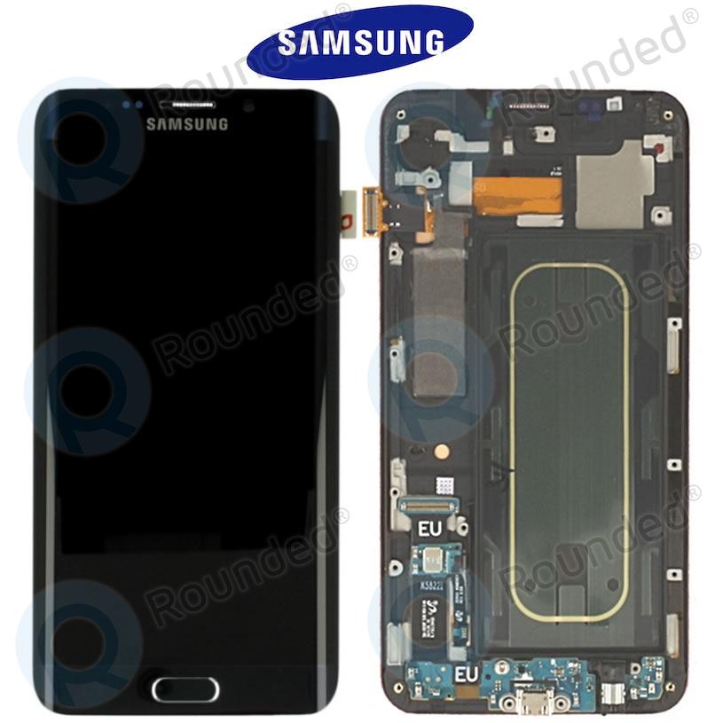 Samsung Galaxy S6 Edge+ (SM-G928F) Display unit complete blackGH97-17819B