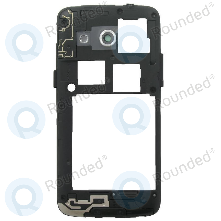 new product 12e49 043d1 Samsung Galaxy Core LTE (SM-G386F) Middle cover black