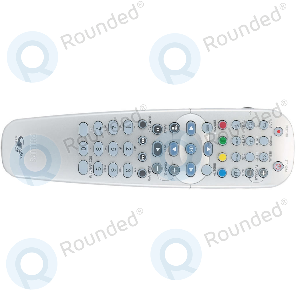 Philips  Remote control CRP649/01 for DVD-recorder HDRW720, DVDR725H CRP649/01; 312814715791 image-1
