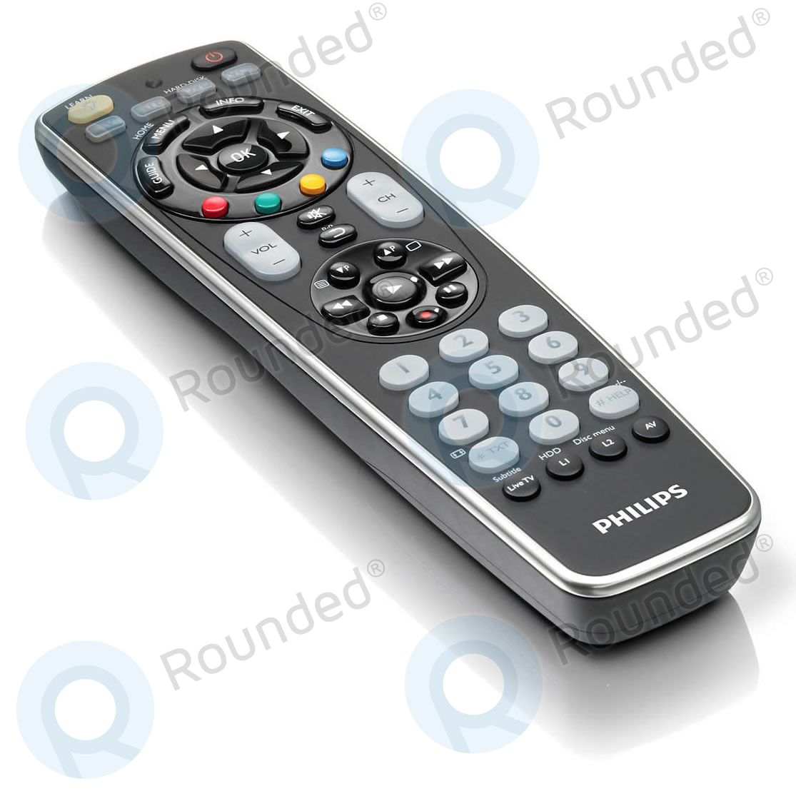 philips universal remote control srp5004 86 4 in 1. Black Bedroom Furniture Sets. Home Design Ideas