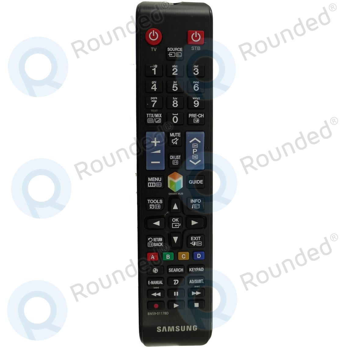 samsung remote control tm1250a bn59 01178d. Black Bedroom Furniture Sets. Home Design Ideas