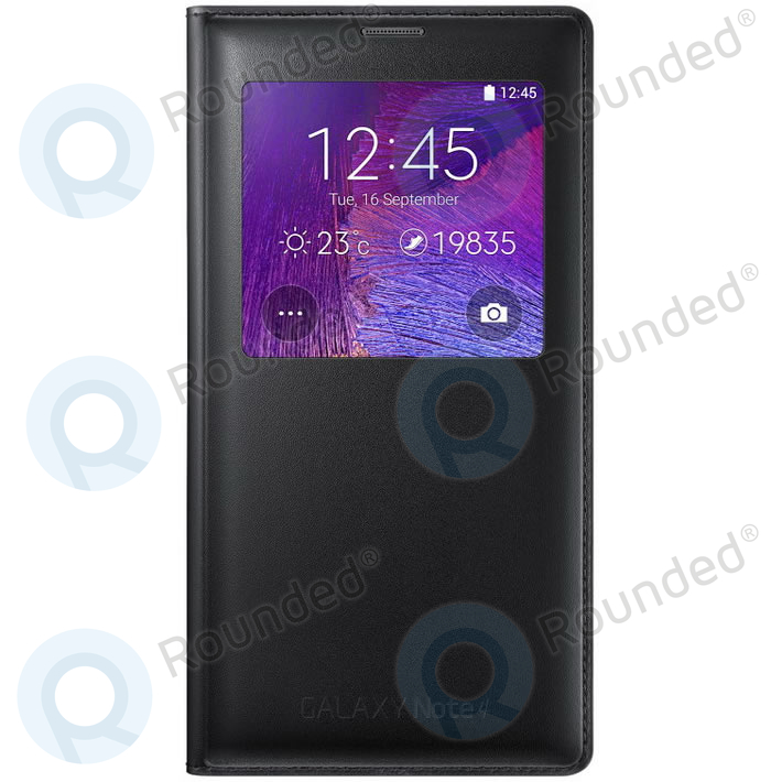 on sale cf9bb 7bad6 Samsung Galaxy Note 4 S View cover black EF-CN910FKEGWW