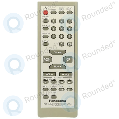 how to open panasonic remote control