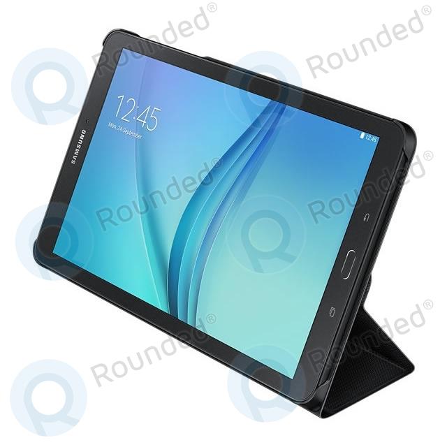 Samsung Book Cover Black Galaxy Tab A : Samsung galaxy tab e book cover black