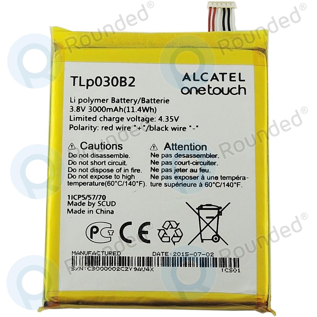 Alcatel One Touch Pop S7 (7045Y) Battery TLp030B2 3000mAh