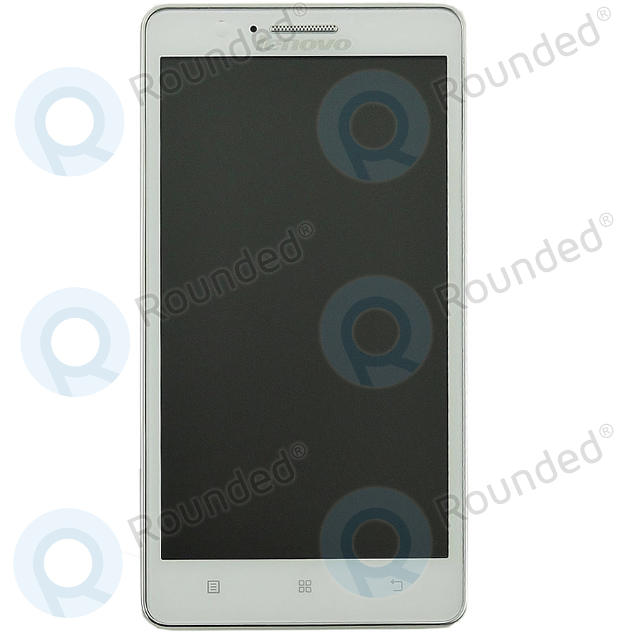 Lenovo A536 Display Module Frontcover Lcd Digitizer White A2020