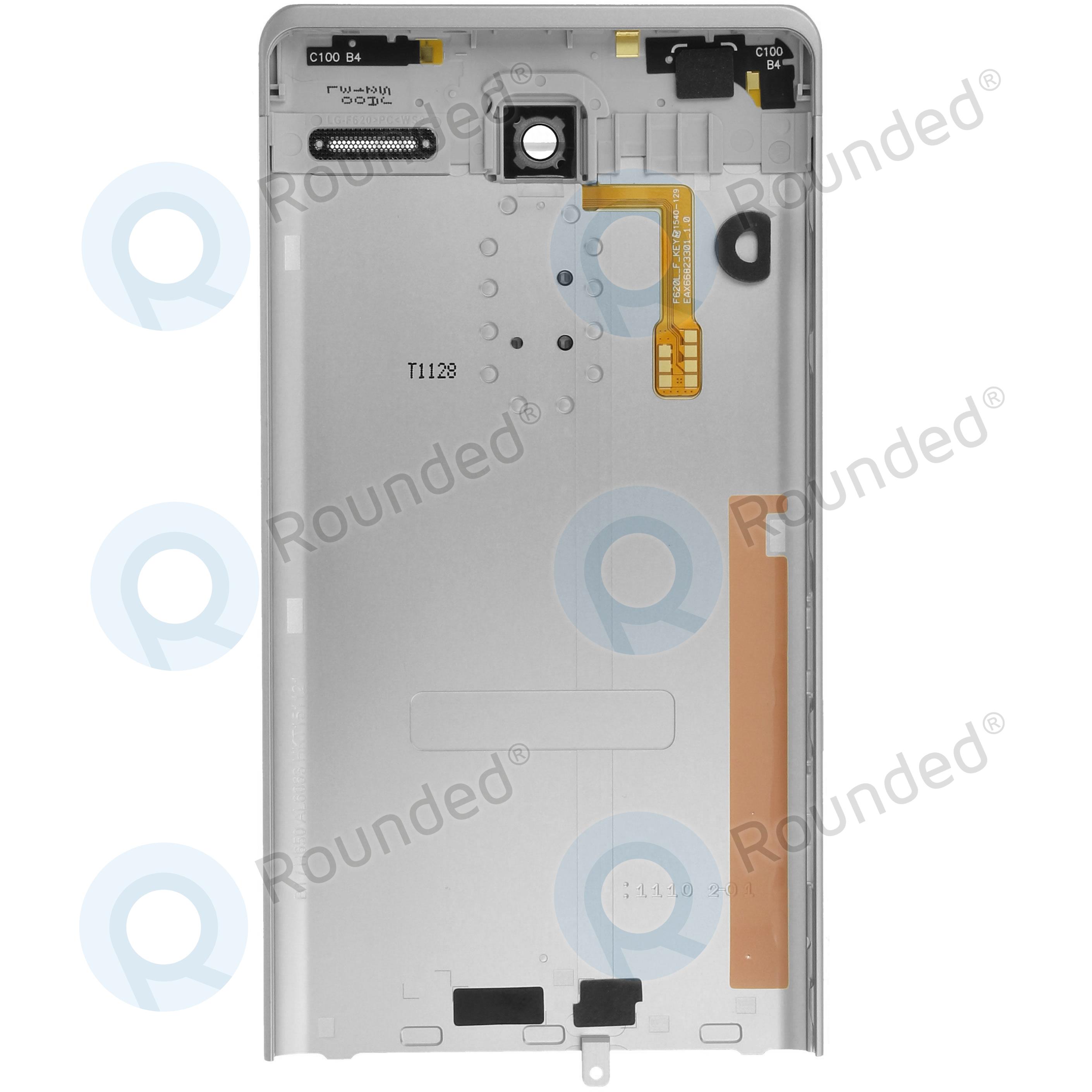9e314f72bcf3a8 ... LG Zero (H650) Battery cover silver ACQ88668112 image-1
