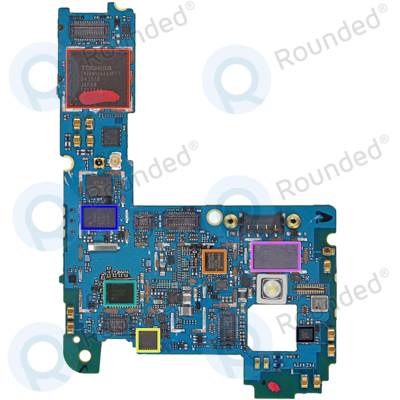 lg nexus 4 e960 mainboard incl imei number ebr