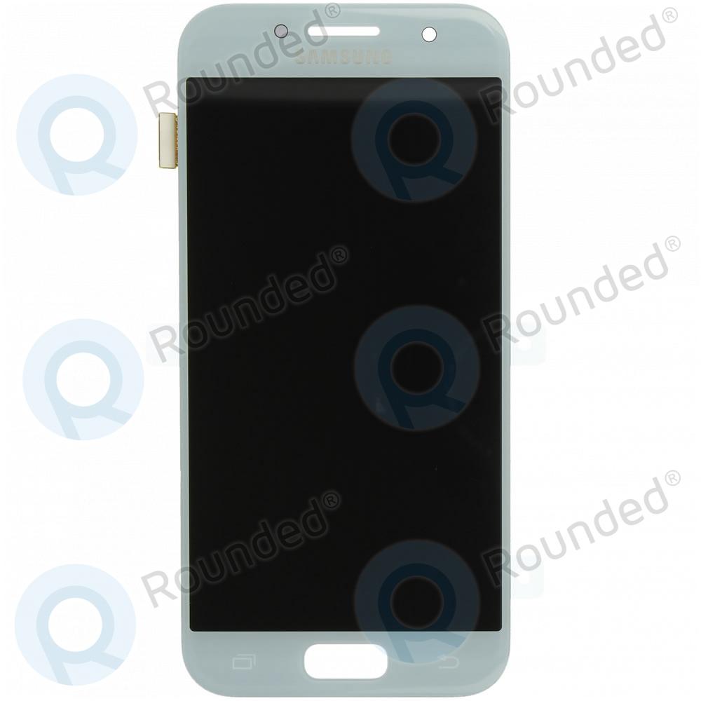 Samsung Galaxy A3 2017 (SM-A320F) Display unit complete blue GH97-19732C GH97-19732C