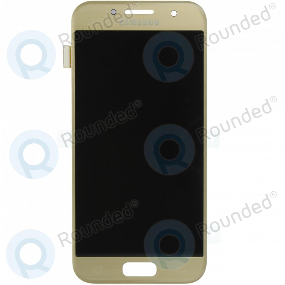 Samsung Galaxy A3 2017 (SM-A320F) Display unit complete gold GH97-19732B GH97-19732B