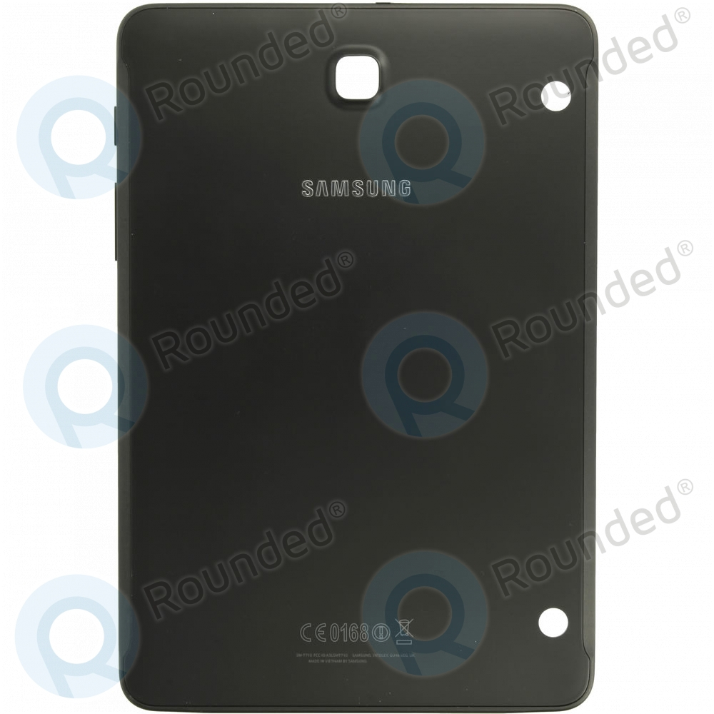 samsung galaxy tab s2 8 0 lte sm t715 back cover black. Black Bedroom Furniture Sets. Home Design Ideas