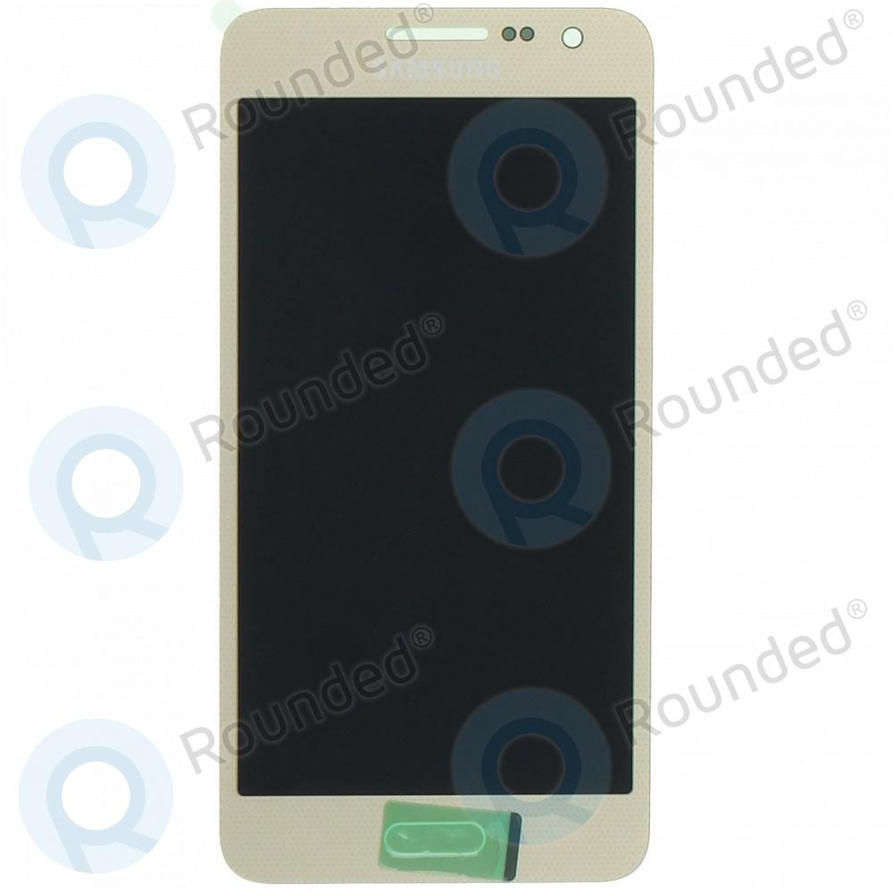 Samsung Galaxy A3 (SM-A300F) Display unit complete gold GH97-16747F GH97-16747F