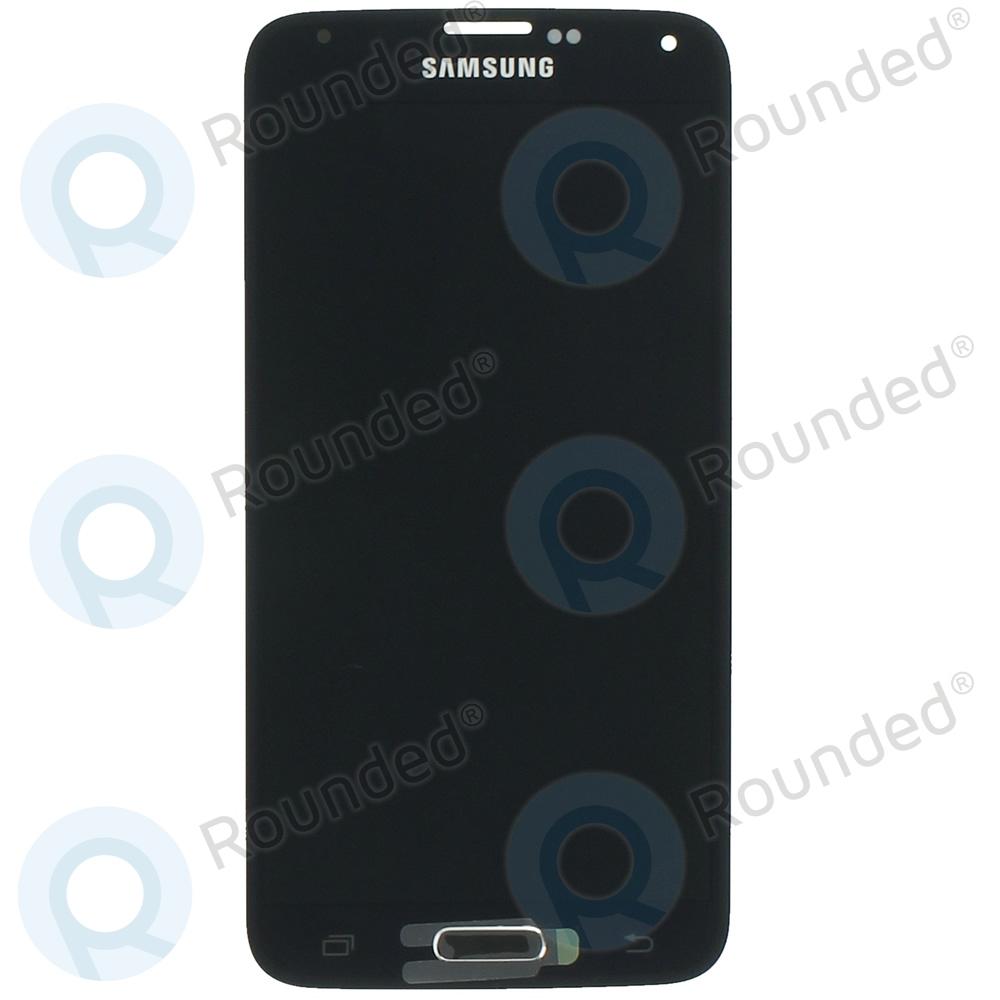 Samsung Galaxy S5 (SM-G900F) Display unit complete black GH97-15959B GH97-15959B