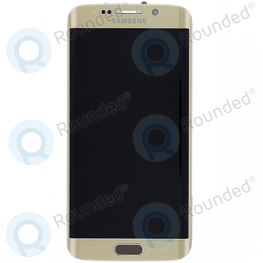 Samsung Galaxy S6 Edge (SM-G925F) Display unit complete gold GH97-17162C GH97-17162C image-1