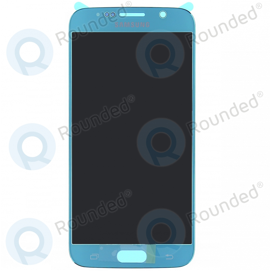 Samsung Galaxy S6 (SM-G920F) Display unit complete blue GH97-17260D GH97-17260D