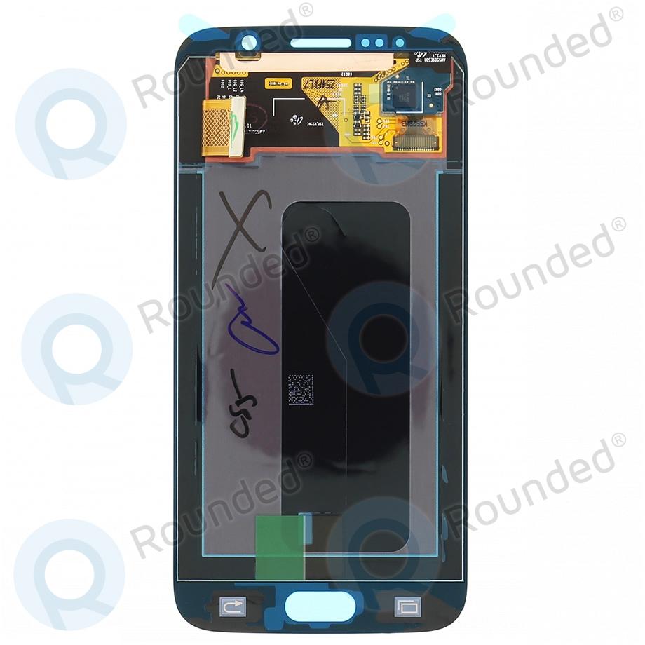 Samsung Galaxy S6 (SM-G920F) Display unit complete blue GH97-17260D GH97-17260D image-1