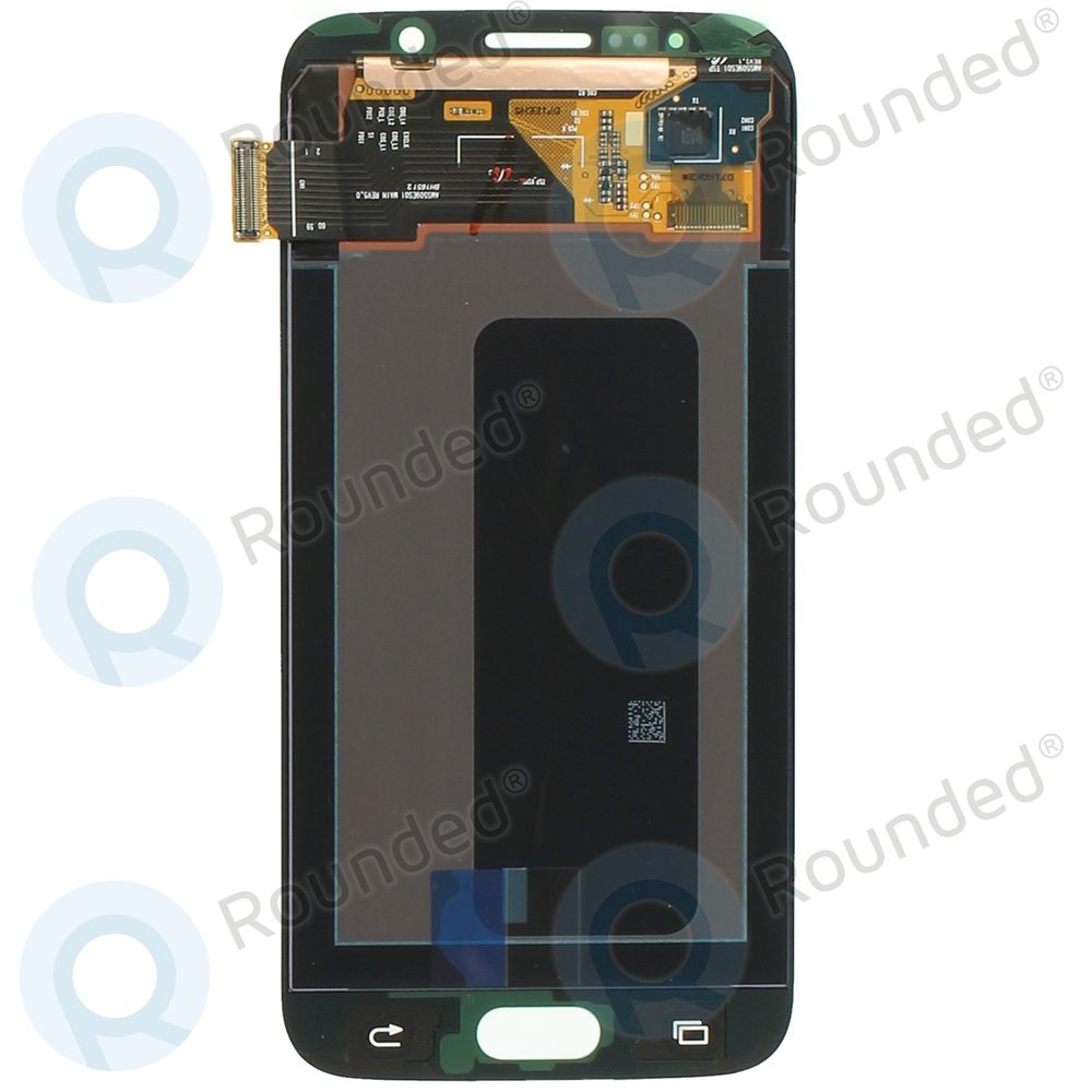 Samsung Galaxy S6 (SM-G920F) Display unit complete white GH97-17260B GH97-17260B image-1