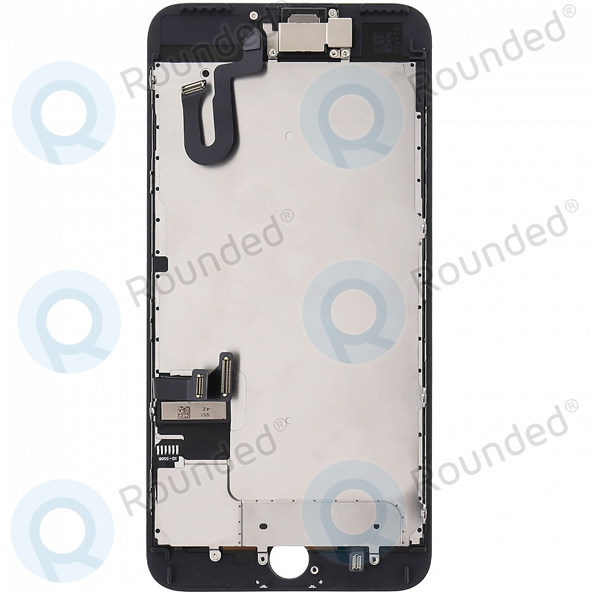 cheaper d1a82 c549d Display module LCD + Digitizer with small parts grade A+ black for iPhone 7  Plus