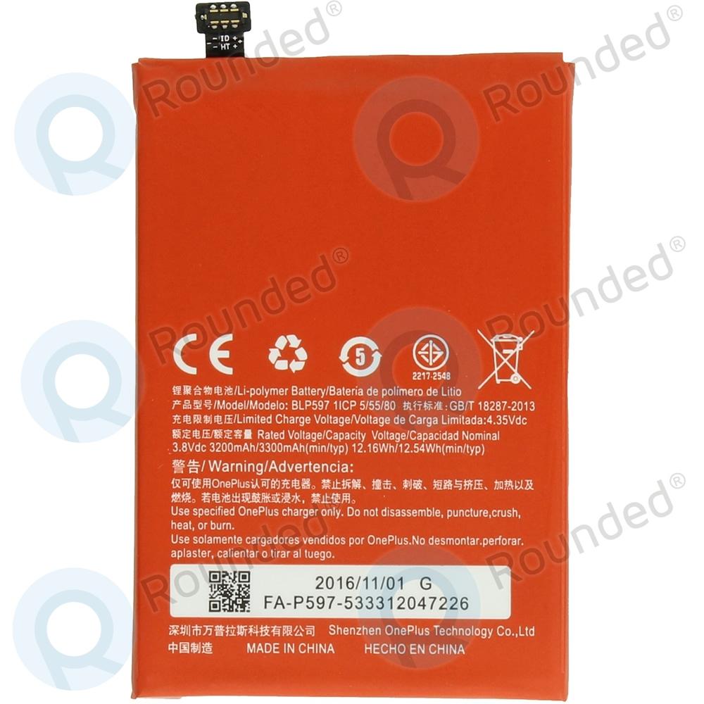 OnePlus 2 Battery BLP597 3300mAh