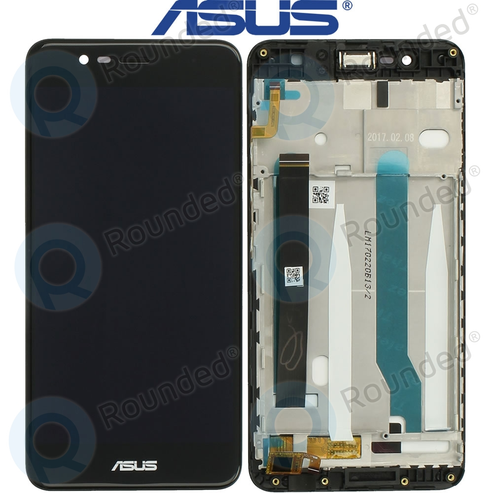 Asus Zenfone 3 Max ZC520TL Display Unit Complete Black 90AX0086 R20010