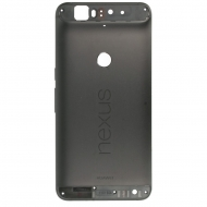 Huawei Nexus 6P Back cover black Without top and bottom cover.