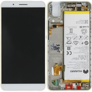 Huawei Honor 7i Display module frontcover+lcd+digitizer + battery white 02350NBB 02350NBB