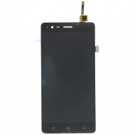 Lenovo K5 Note Display module LCD + Digitizer black Display assembly, LCD incl. touchpanel.
