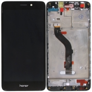 Huawei Honor 7 Lite, Honor 5C Display module frontcover+lcd+digitizer black Display digitizer, touchpanel incl. frontcover.