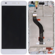 Huawei Honor 7 Lite, Honor 5C Display module frontcover+lcd+digitizer white Display digitizer, touchpanel incl. frontcover.
