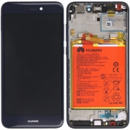 Huawei P8 Lite 2017 Display module frontcover+lcd+digitizer + Battery blue 02351EXQ 02351EXQ