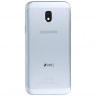 Samsung Galaxy J3 2017 (SM-J330F) Battery cover silver blue GH82-14891B GH82-14891B
