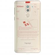 Huawei Honor 6X (BLN-L21) Battery cover incl. Fingerprint sensor gold 02351BHR 02351BHR