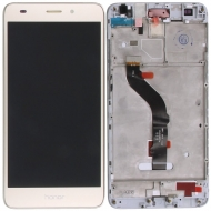 Huawei Honor 7 Lite, Honor 5C Display module frontcover+lcd+digitizer gold Display digitizer, touchpanel incl. frontcover.