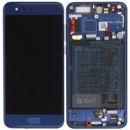Huawei Honor 9 (STF-L09) Display module frontcover+lcd+digitizer+battery blue 02351LBV 02351LBV