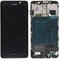 Huawei Mate 9 Pro Display module frontcover+lcd+digitizer+battery black Display module frontcover+lcd+digitizer+battery. Original complete display LCD + front cover +  touchscreen + battery. Display unit complete with battery.