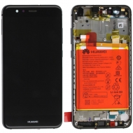 Huawei P10 Lite Display module frontcover+lcd+digitizer + battery black 02351FS 02351FS